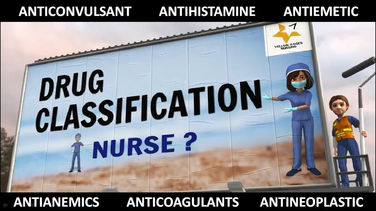 DRUG CLASSIFICATION FOR NURSES. USEFUL TIPS FOR NURSING EXAMINATION. - DRUG CLASSIFICATION FOR NURSES. USEFUL TIPS FOR NURSING EXAMINATION.