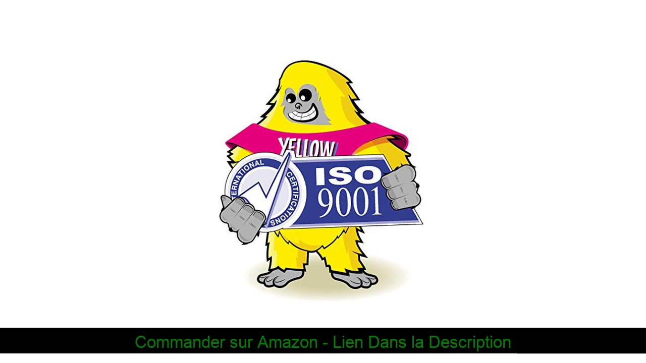 Yellow Yeti CF283A 83A 1500 Pages 2 Cartouches Toner compatibles pour HP Laserjet Pro M201dw M2 - ❎ Yellow Yeti CF283A 83A (1500 Pages) 2 Cartouches Toner compatibles pour HP Laserjet Pro M201dw M2
