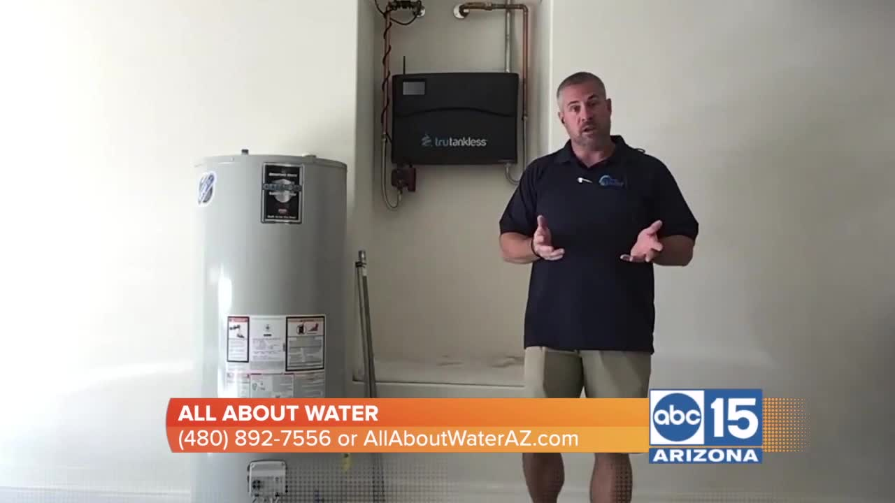 Learn why George Funkhouser of All About Water says its time to go tankless - Learn why George Funkhouser of All About Water says it's time to go tankless